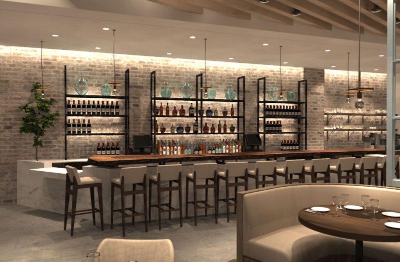 Main Floor Dining Bar Area